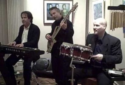 David Bach Trio performing at a BMW corporate party at the Corcoran Art Gallery